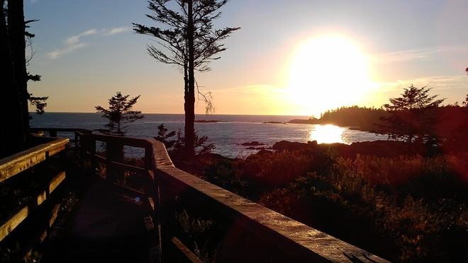 Sunset Point Ucluelet, British Columbia Canada