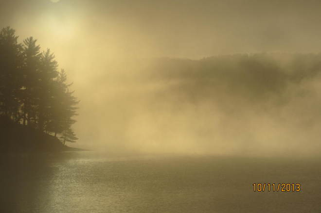 Haliburton Morning Mist Haliburton, Ontario Canada
