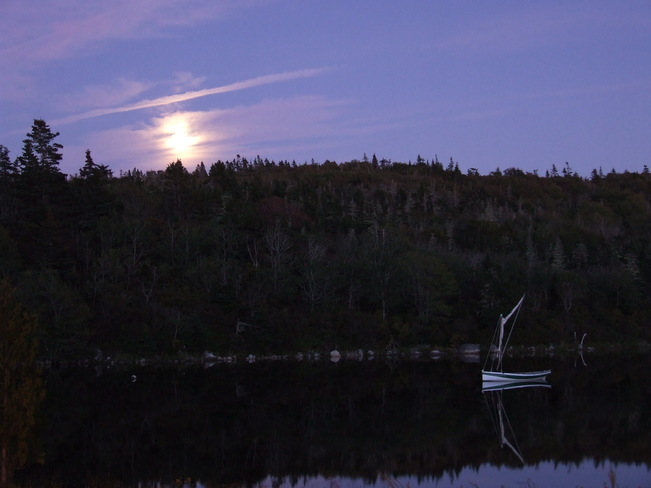 Moonrise over Terence Bay Terence Bay, Nova Scotia Canada