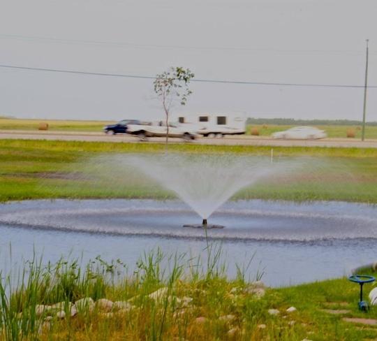 fountain East Kildonan - Transcona, Manitoba Canada