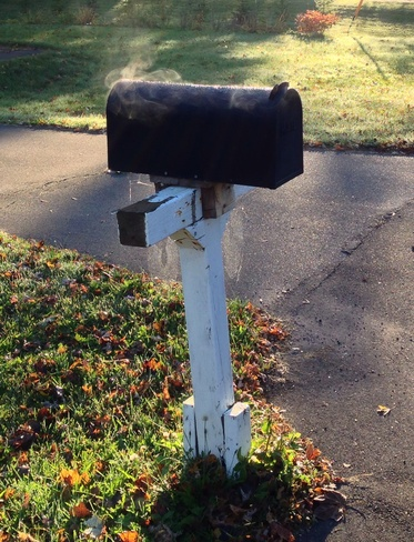 steaming mailbox East Royalty, Prince Edward Island Canada