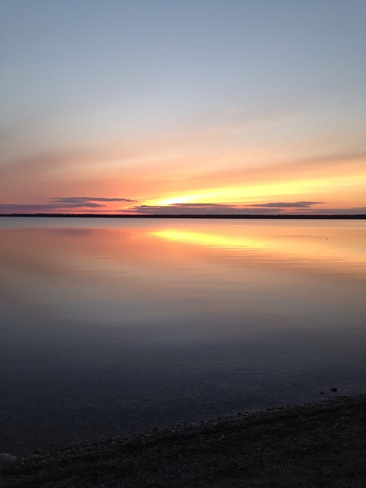 sunset Wasagaming, Manitoba Canada