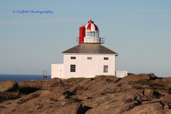 Lighthouse at Cpae Spear St. John's, Newfoundland and Labrador Canada