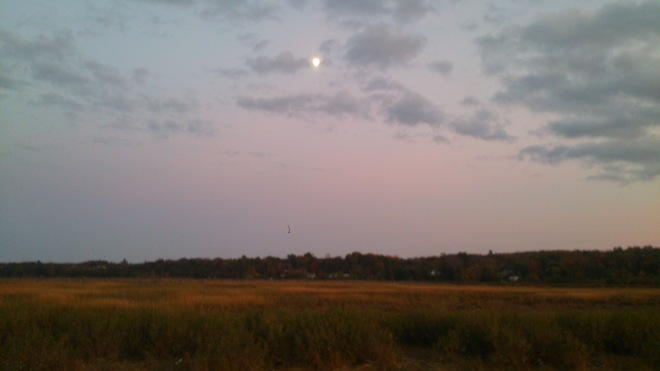 Full Moon Time in Wolfville Wolfville, Nova Scotia Canada