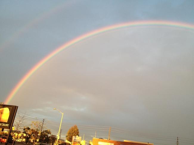 rainbow Eglinton East, Ontario Canada