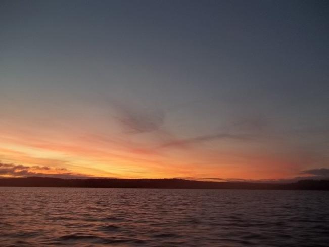 Dawn Birchy Bay, Newfoundland and Labrador Canada