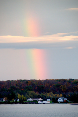 Rainbow, St. Lawrence River Brockville, Ontario Canada