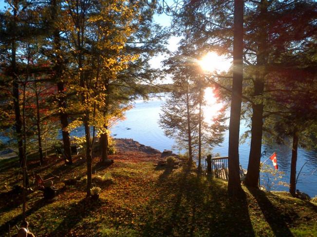 Fall Bancroft, Ontario Canada