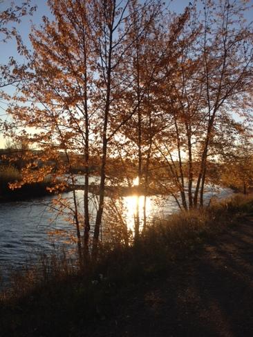 Nechako River Prince George, British Columbia Canada