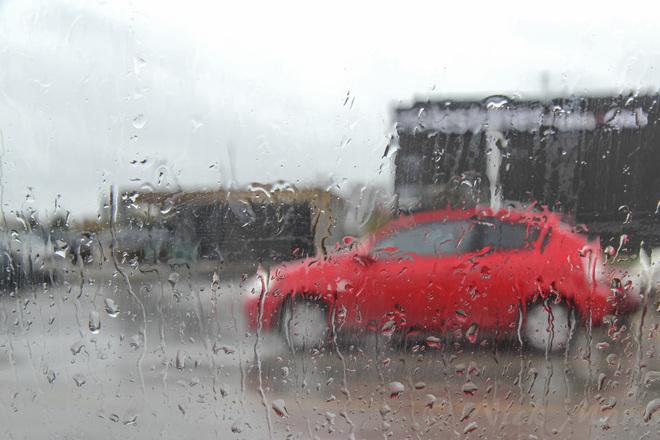 rainy day Guelph, Ontario Canada