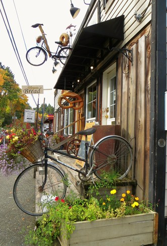 Bread and Bikes Cowichan Bay, British Columbia Canada