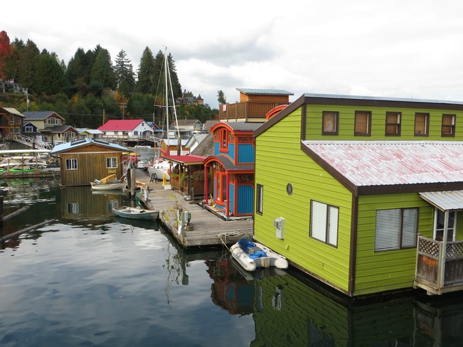 Colorfull Homes Cowichan Bay, British Columbia Canada