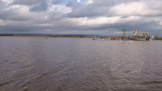 Wolfville Water World Meets the Minas Basin Wolfville, Nova Scotia Canada