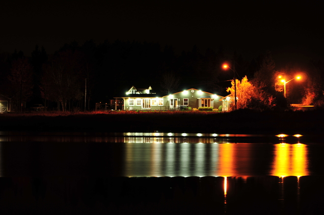 My Night Shot. Cap-Pele, New Brunswick Canada