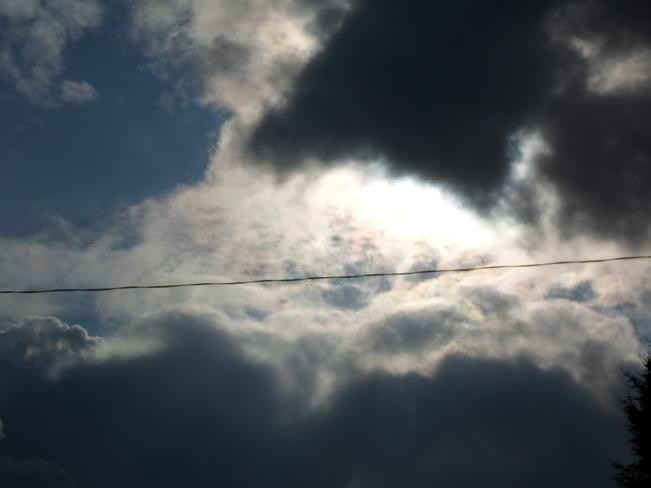 Dark Clouds over Elliot Lake again Elliot Lake, Ontario Canada