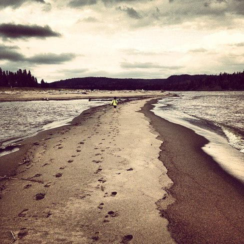 Sand Bar Heron Bay, Ontario Canada