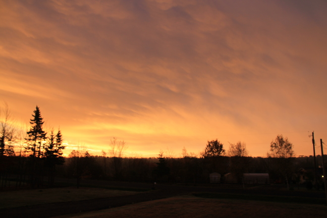 Sunrise Moncton, New Brunswick Canada