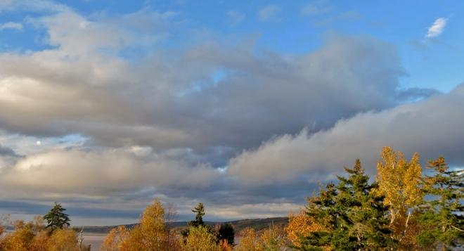 Low Clouds Near Hopewell Cape Hopewell Cape, New Brunswick Canada