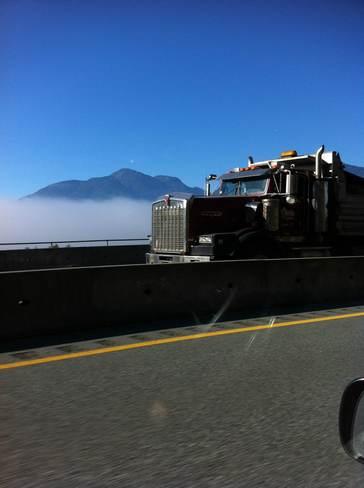 cloud riding Squamish, British Columbia Canada