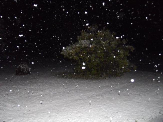 heavy snow Englehart, Ontario Canada