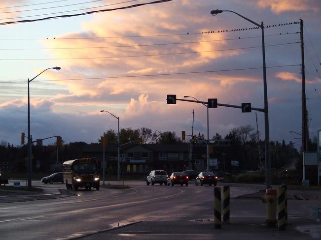 Fall Morning Rush Petawawa, Ontario Canada