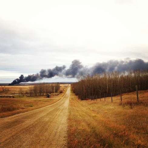 gainford train derailment Gainford, Alberta Canada
