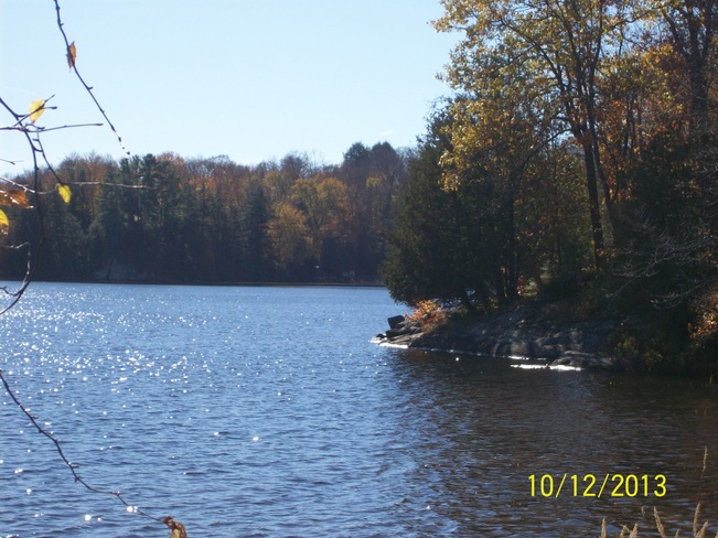 Lovely Weather on the Duck with all it's Autumn Glory Orrville, Ontario Canada