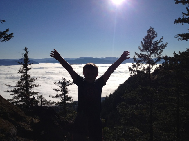top of the world Cowichan Bay, British Columbia Canada