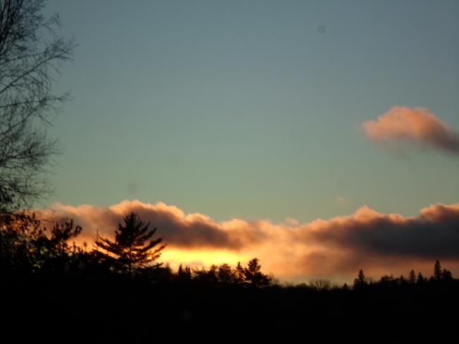 Beautiful Sunset In Elliot Lake Elliot Lake, Ontario Canada
