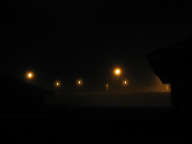 Overnight fog... Turner Valley, Alberta Canada
