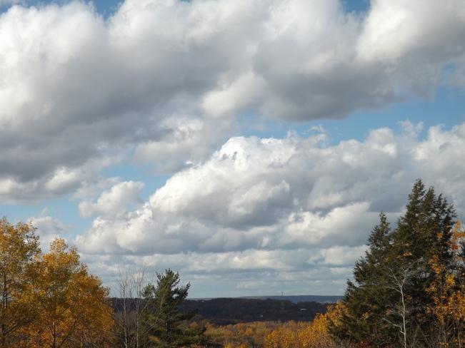 clouds everywherd New Minas, Nova Scotia Canada