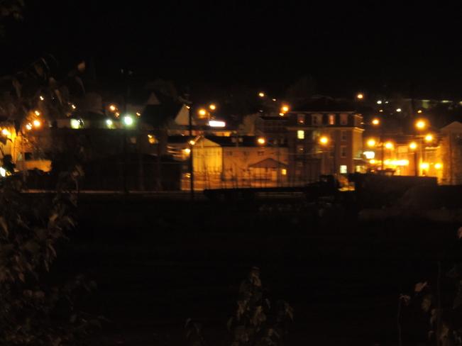 Miramichi In The Night Time October 24th 2013 Miramichi, New Brunswick Canada