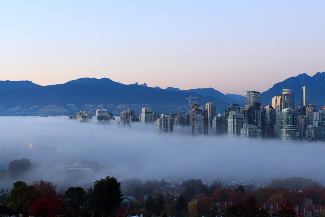 Vancouver Fog Vancouver, British Columbia Canada