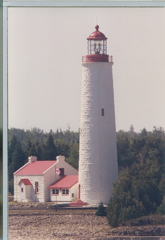 lighthouse at tobermory Tobermory, Ontario Canada