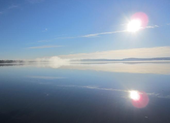 Sunrise at Bass Lake Orillia, Ontario Canada