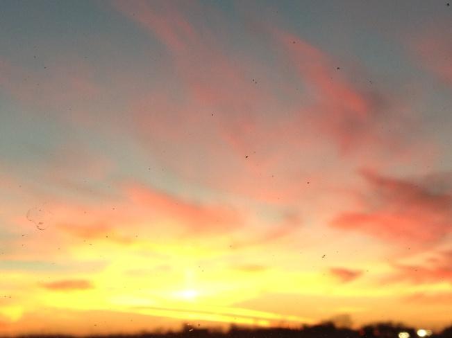 Prairie Sky Sunset Yorkton, Saskatchewan Canada