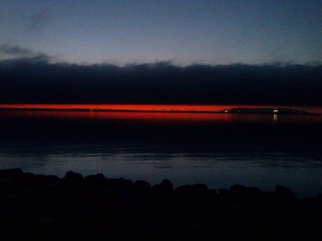 morning at the marina Thunder Bay, Ontario Canada