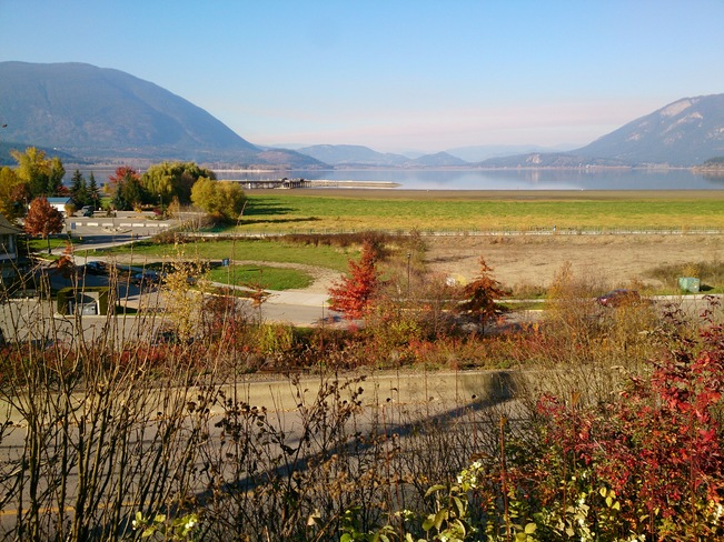 the warf and whatnot Salmon Arm, British Columbia Canada