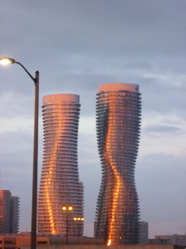 Marilyn Monroe Towers Mississauga, Ontario Canada