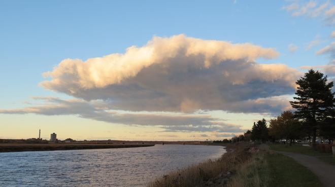 Umbrella Cloud Riverview, New Brunswick Canada