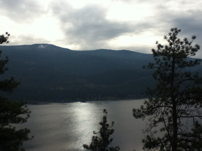 overlooking kalamalka lk. South Vernon, British Columbia Canada