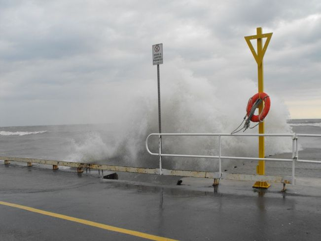 Stormy Weather Cobourg, Ontario Canada