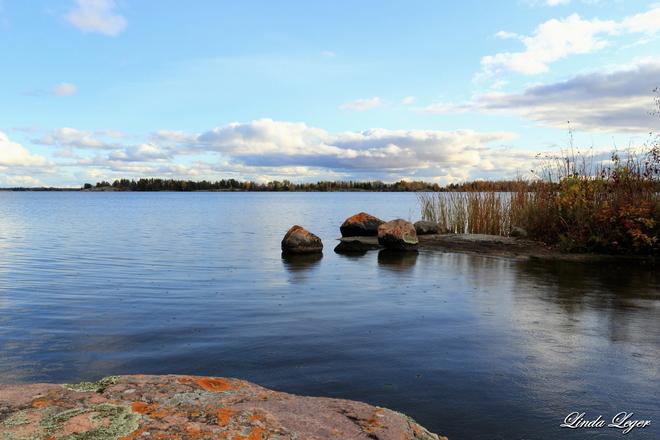 Hail To The River Lac du Bonnet, Manitoba Canada