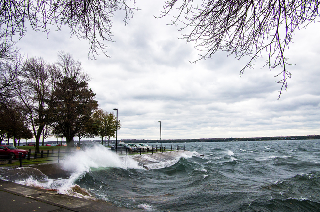 Angry River Brockville, Ontario Canada