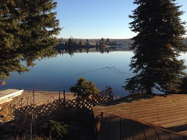 Sunny and Clear Stenen, Saskatchewan Canada
