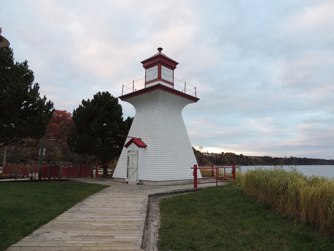 Ritchies Wharf Lighthouse October 24th 2013 Miramichi, New Brunswick Canada