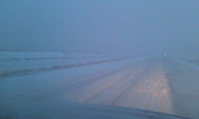 Apparently Highway 31 Is Clear.....You tell me Luseland, Saskatchewan Canada