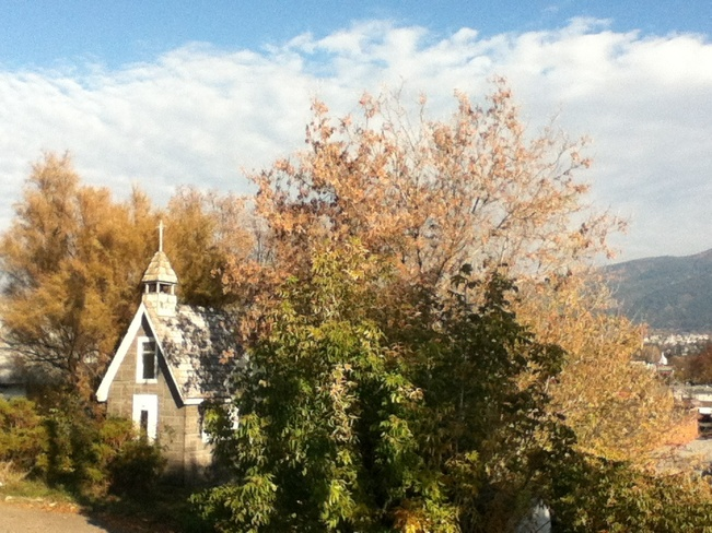the little fall chapel South Vernon, British Columbia Canada