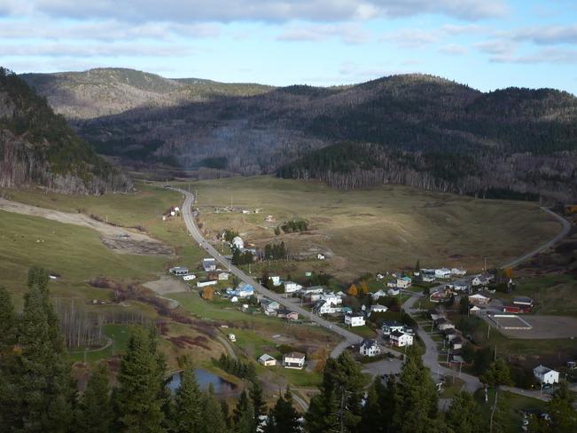 Le petit village de Ste-Rose Sainte-Rose-du-Nord, Quebec Canada