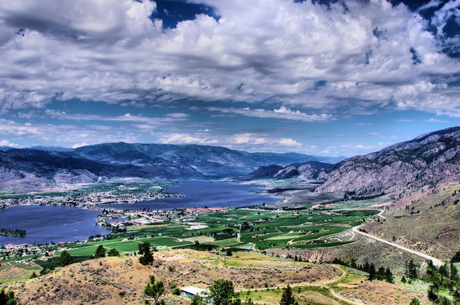spectacular the view it is Osoyoos, British Columbia Canada